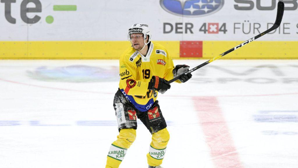 Jesper Olofsson i Bern.