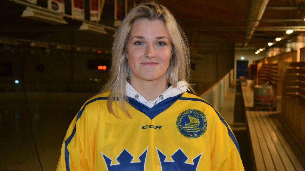 Amanda Johansson hoppas få chansen i Damkronorna.