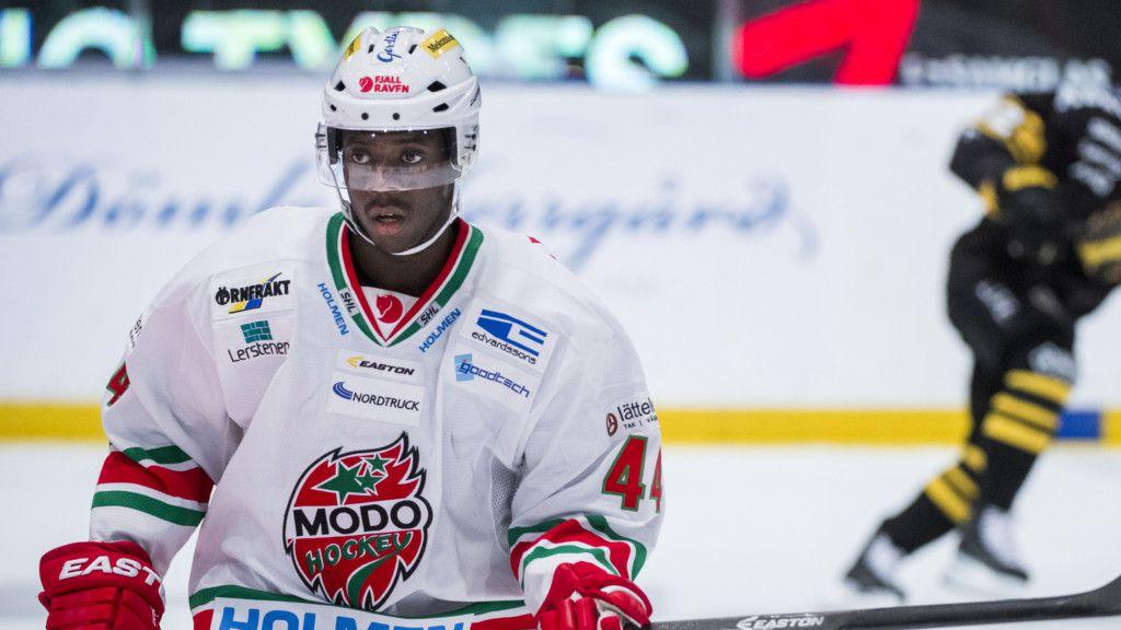 Edwin Hedberg i Modotröjan.