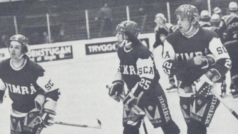 Mats Näslund (25) i Timrå 1976.