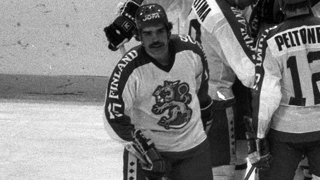 Mikko Leinonen spelade både VM och OS för Finland.