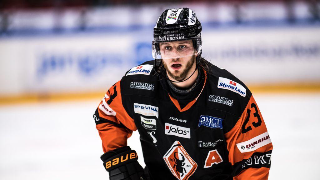 Daniel Norbe har varit en av Hockeyallsvenskan bästa offensiva backar den här säsongen..
