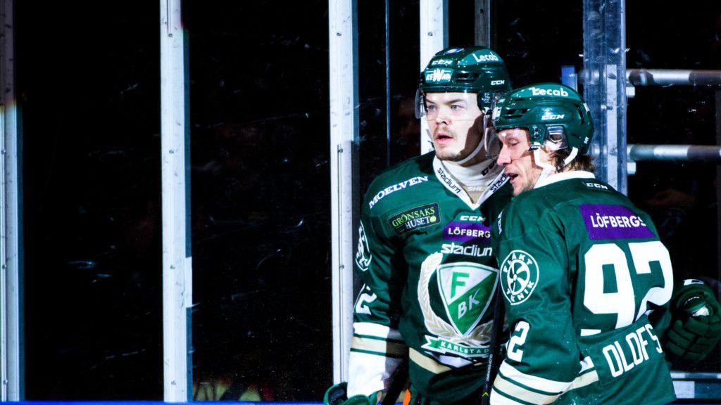 Jesper Olofsson och Ville Leskinen.