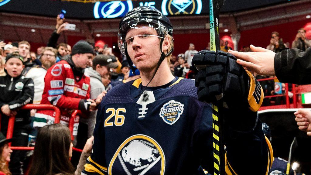 Rasmus Dahlin kan återvända till spel i natt.