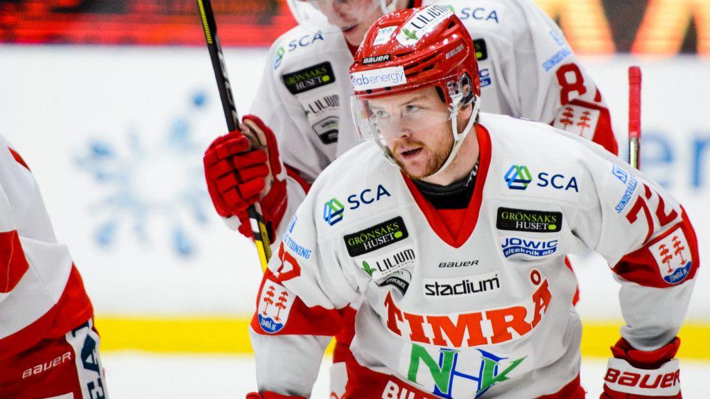 Sebastian Ohlsson stod för tre poäng i segermatchen.