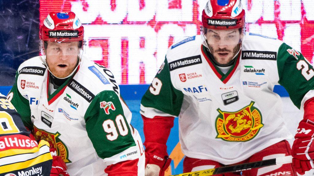 Daniel Ljunggren och radarpartnern Johan Persson.