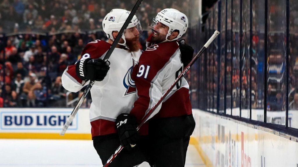 Nazem Kadri (höger) är i dag en stjärna i NHL.