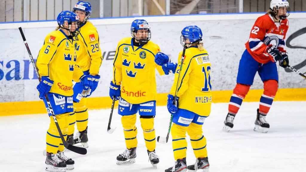 Ny seger för Damkronorna – nollade Norge