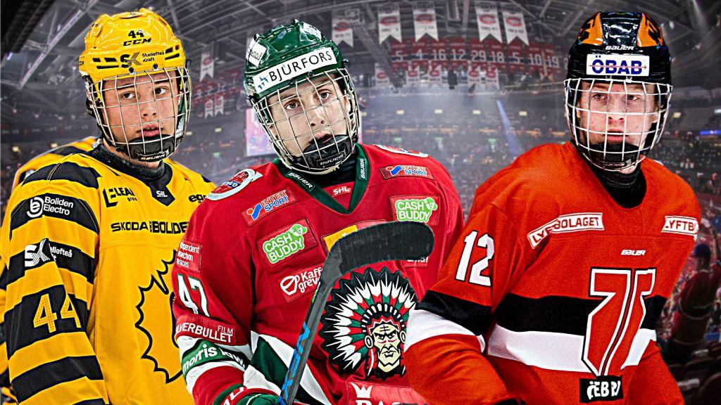 Tio heta svenskar inför NHL-draften 2022