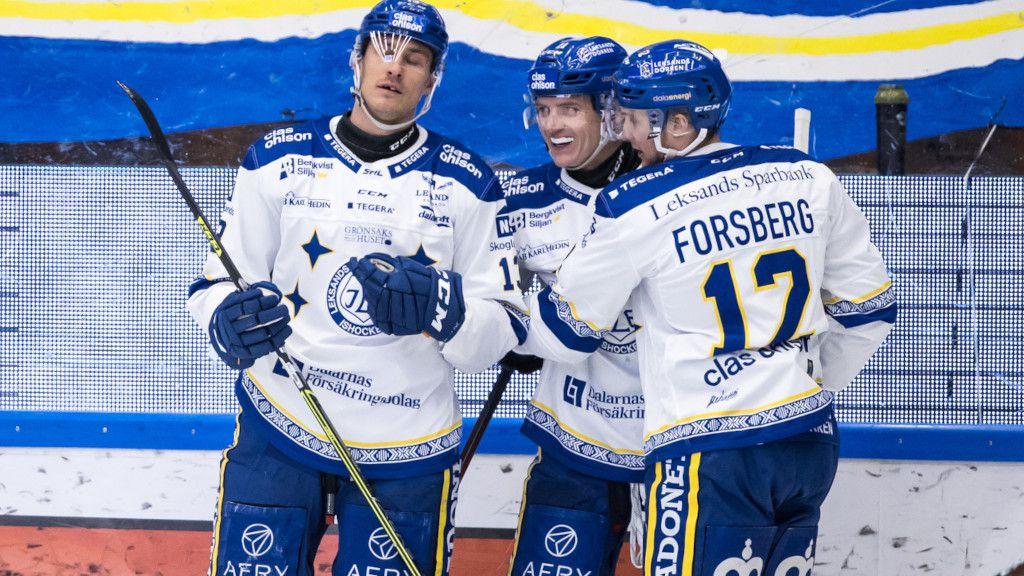 Jon Knuts, Martin Karlsson och Fredrik Forsberg.