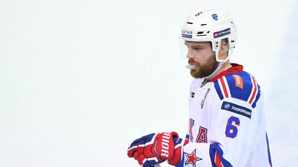 Patrik Hersley, här i SKA St. Petersburgs färger.