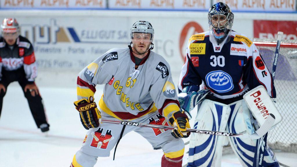 Kris Beech i Schweiz 2009.