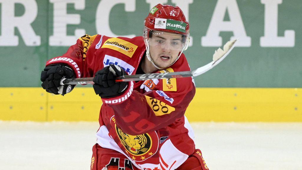 Erik Brännström inledde säsongen i Schweiz.