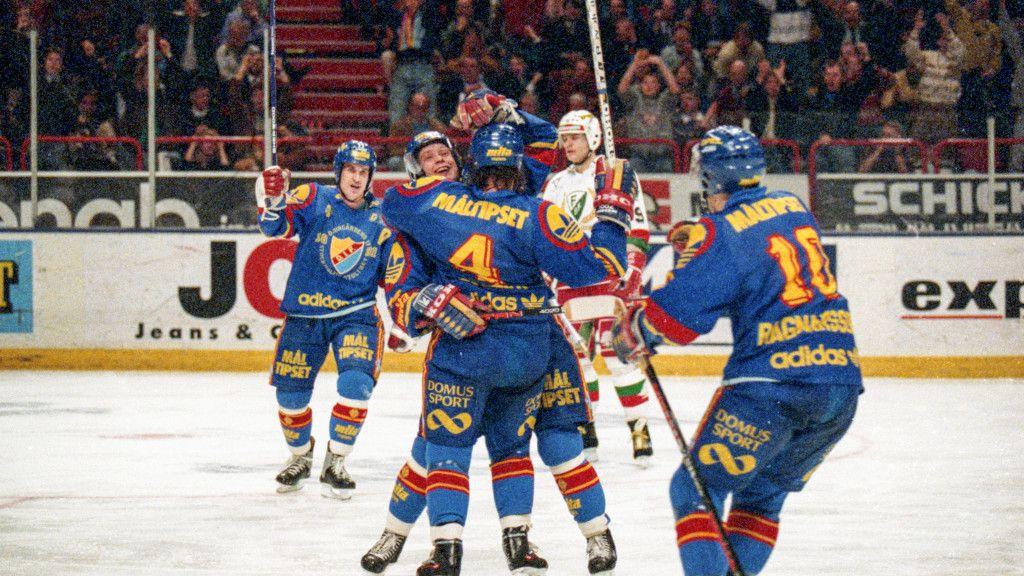 Guldjubel i Djurgården 1991.