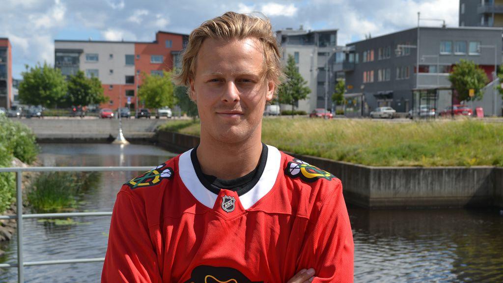 Adam Boqvist spelar för Columbus kommande säsong.