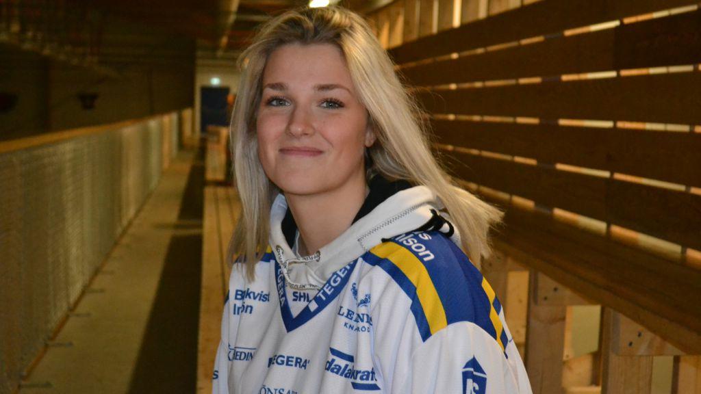 Amanda Johansson ser fram emot äventyret i Leksand.