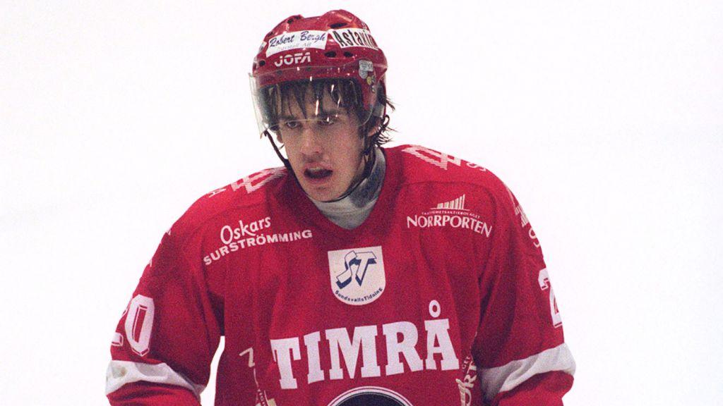 Henrik Zetterberg i Timrås tröja 2000.
