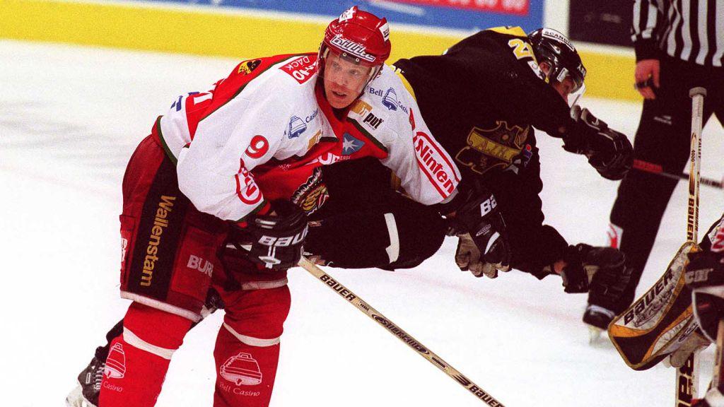 Nicklas Rahm får Leksands nuvarande sportchef Thomas Johansson på fall. Får vi se något liknande i vinter?