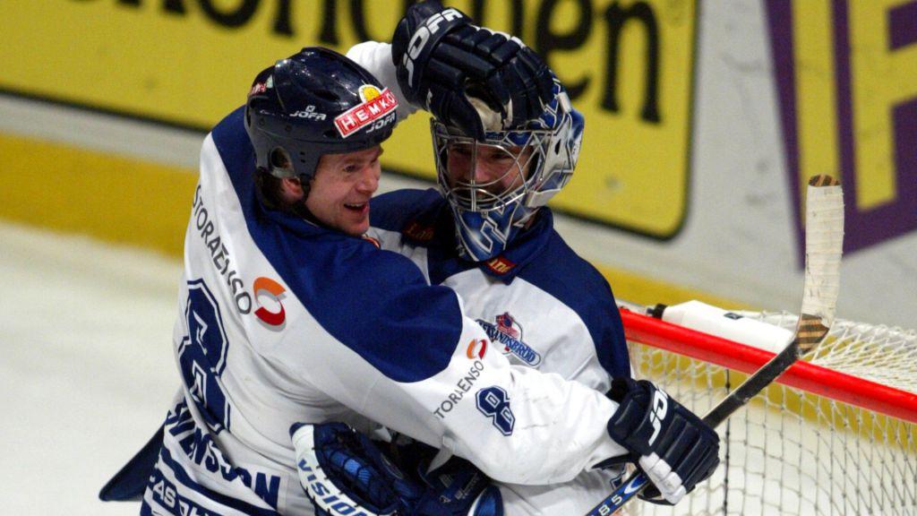 Sean Gauthier spelade en stor del i att Leksand gick upp i Elitserien 2002.