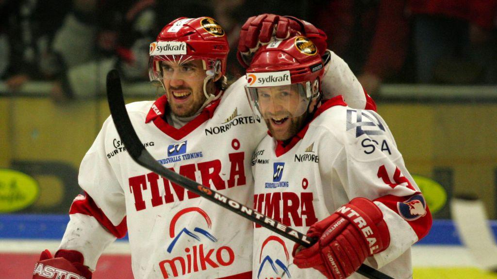 Henrik Zetterberg, här tillsammans med Niklas Nordgren.
