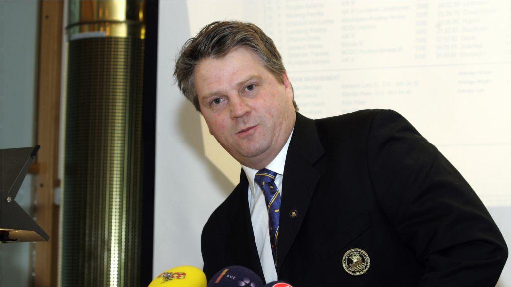 Peter Elander inför OS 2006.