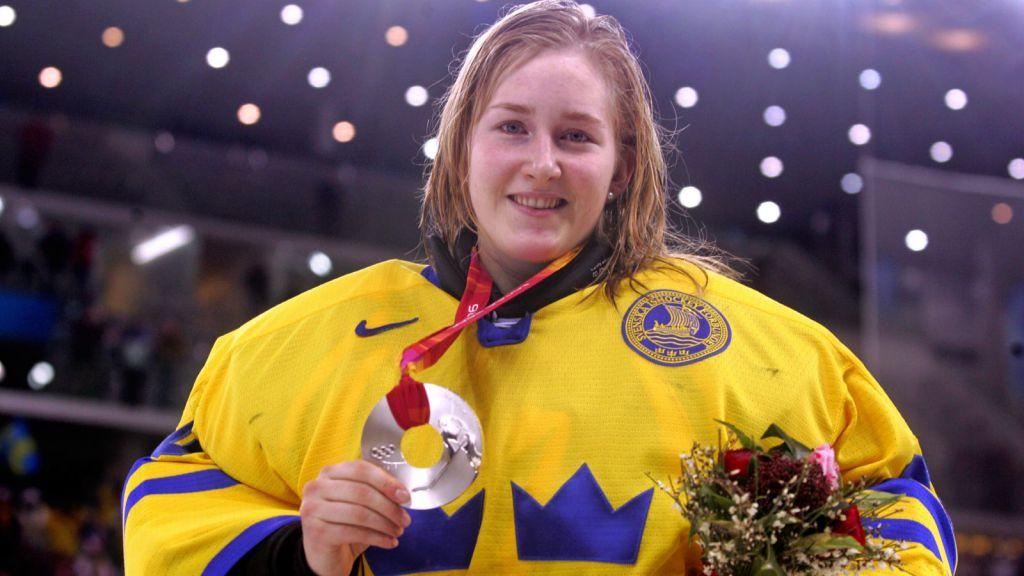 Kim Martin blev nationalhjälte 2006.