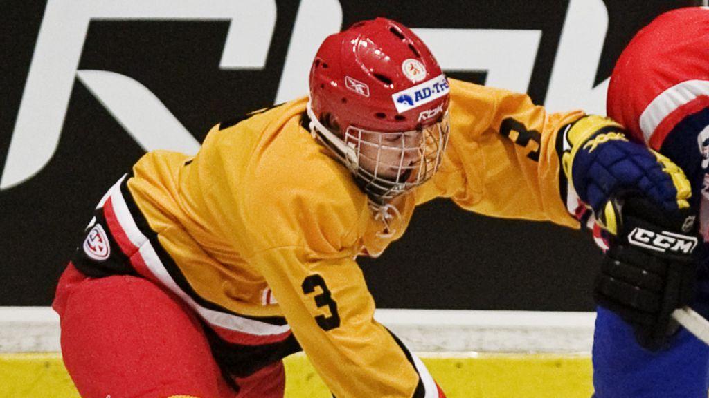 Pelle Karlsson i TV-pucken 2008.