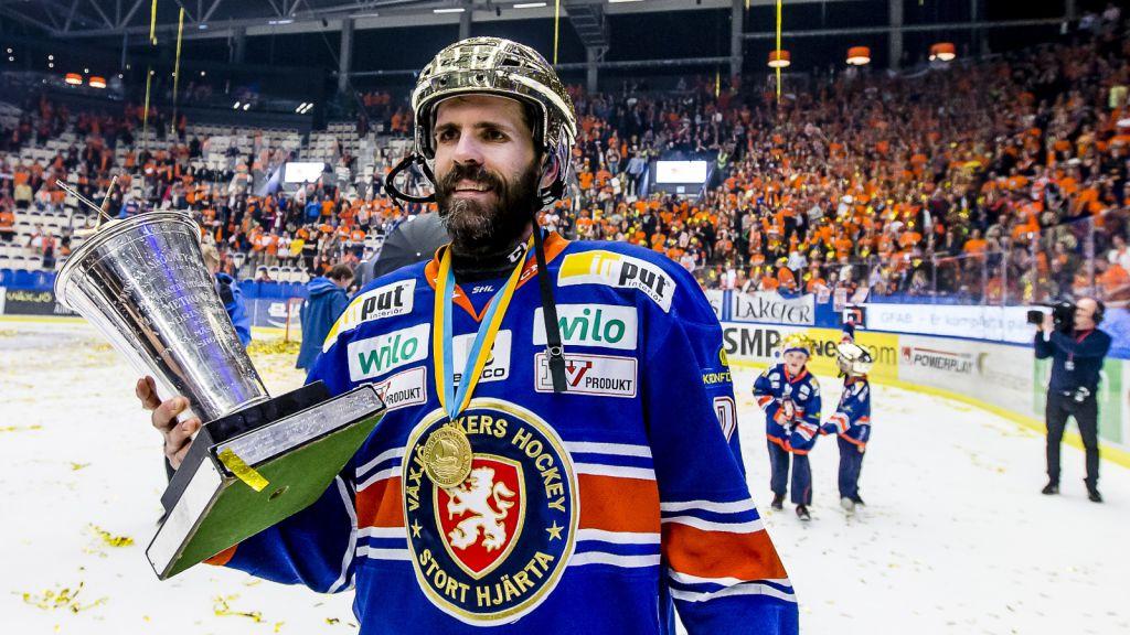 Cory Murphy – svensk mästare med Växjö 2015.