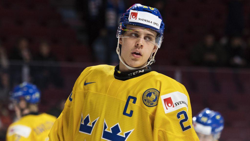 Joel Eriksson Ek var kapten i Montréal 2017.