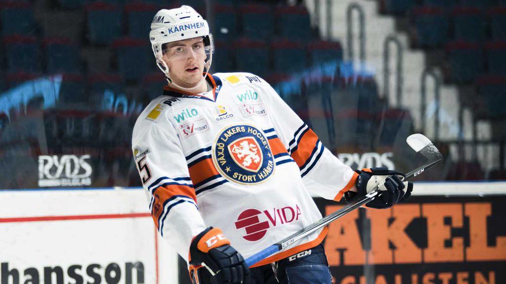 Philip Holm i Växjö-tröjan 2017.