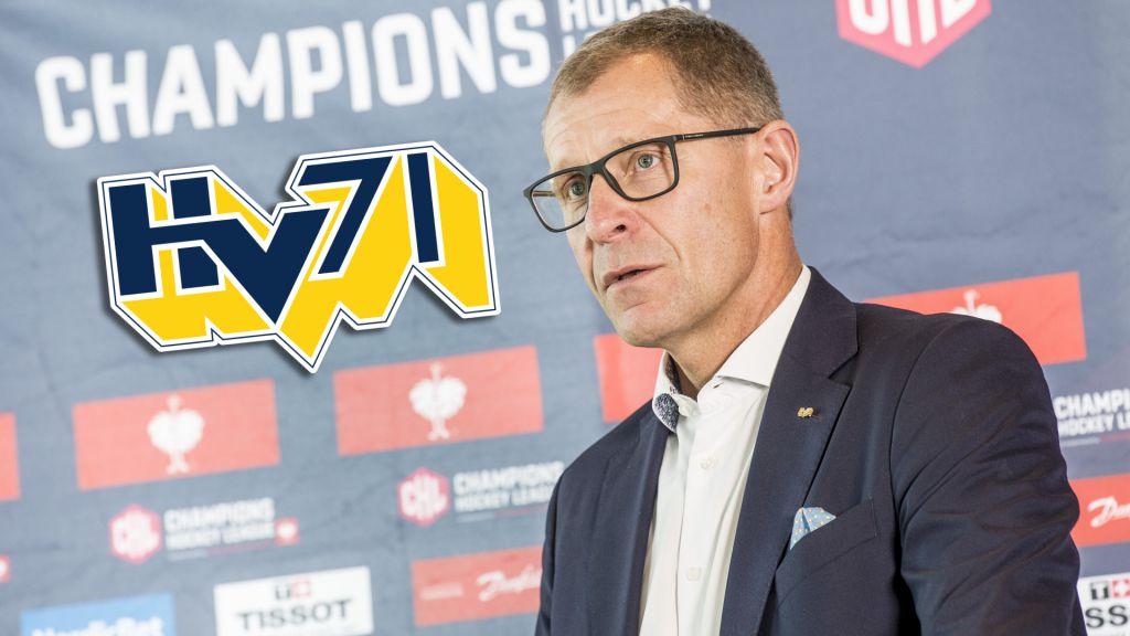 """Klubbdirektören lämnar HV71: """"Behöver en ny person"""""""