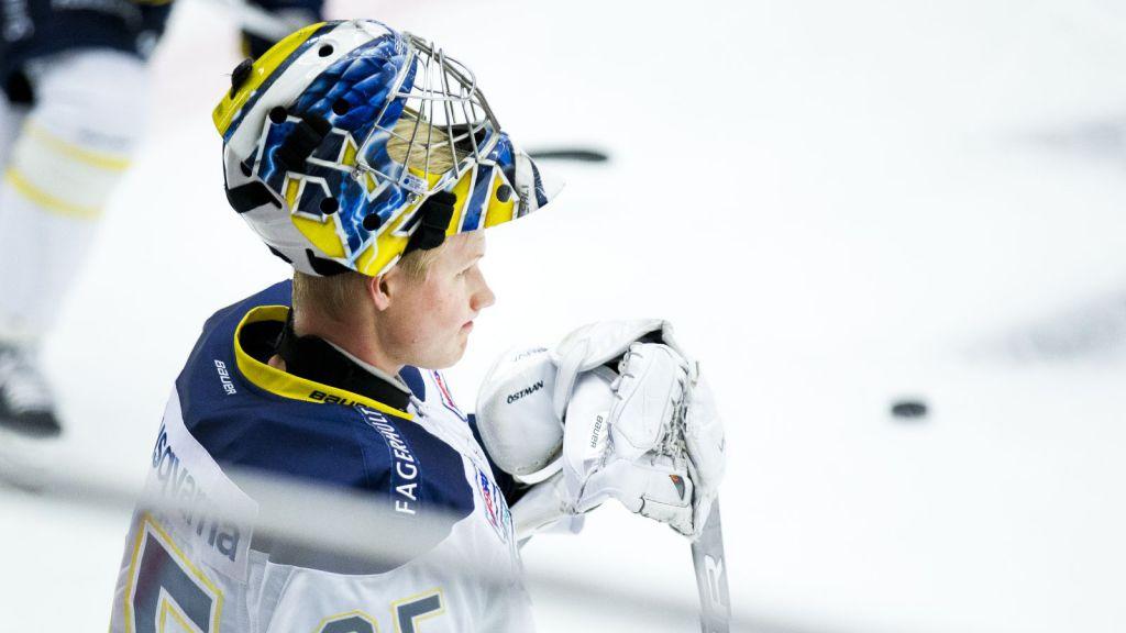 Victor Östman har nosat på spel i SHL.