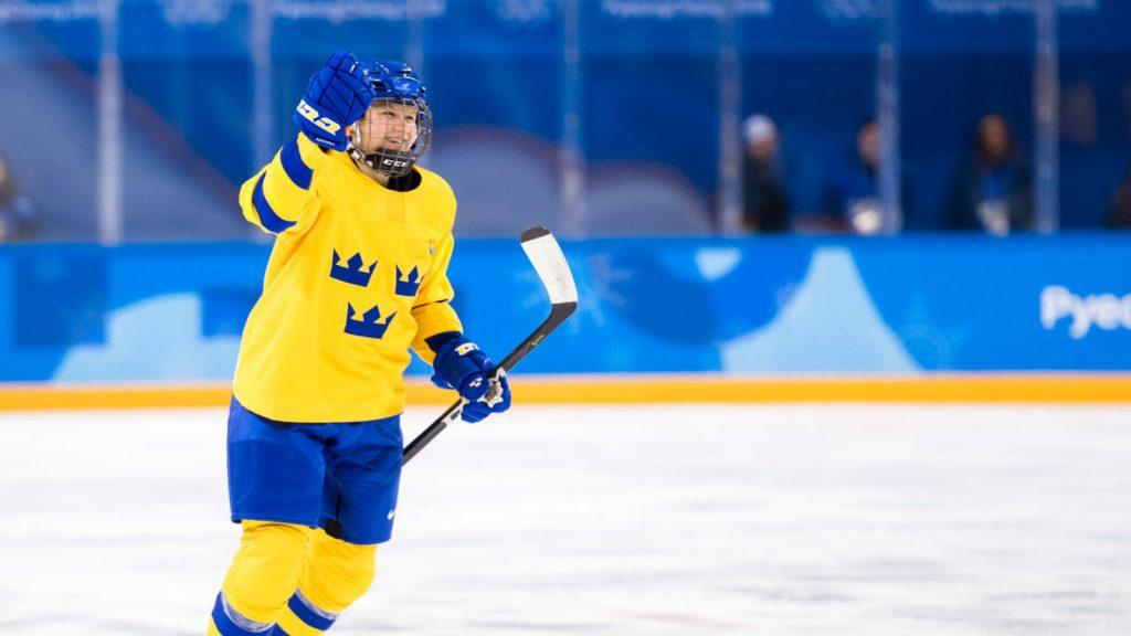 Maja Nylén Persson under OS.