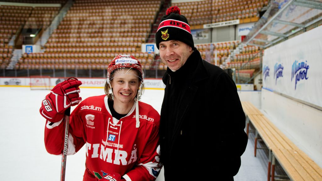 Jonathan och Ulf Dahlén.