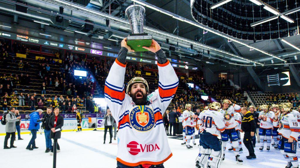 Daniel Rahimi var en viktig pjäs när Växjö vann SM-guld 2018.