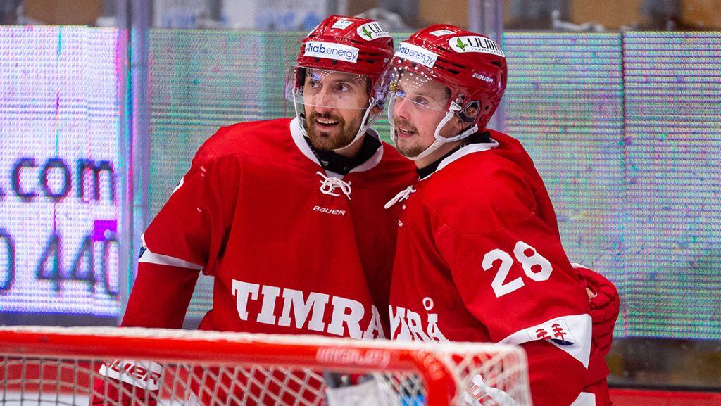 Albin Lundin och Jonathan Dahlén var en fruktad duo i Hockeyallsvenskan.