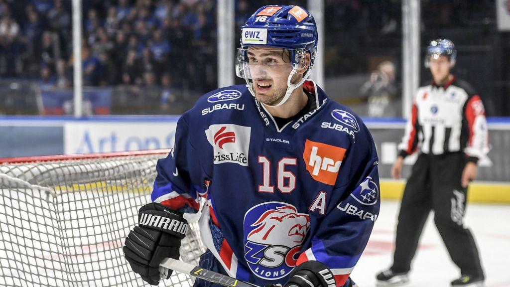 Krüger har gjort 18 poäng under sin debutsäsong i Schweiz.