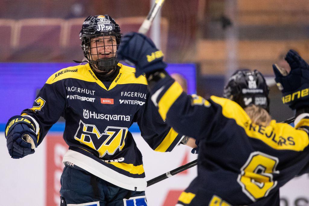 HV 71 segrare hemma mot AIK