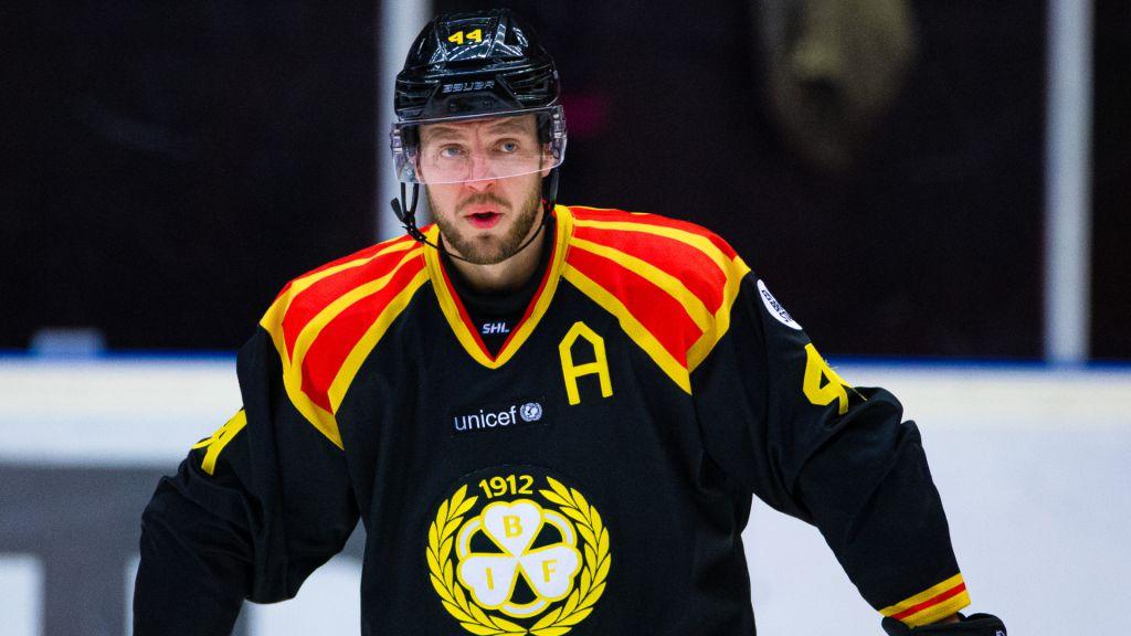 Jacob Blomqvist var ledsen över att inte bli kvar i Brynäs men menar nu att han har gått vidare.