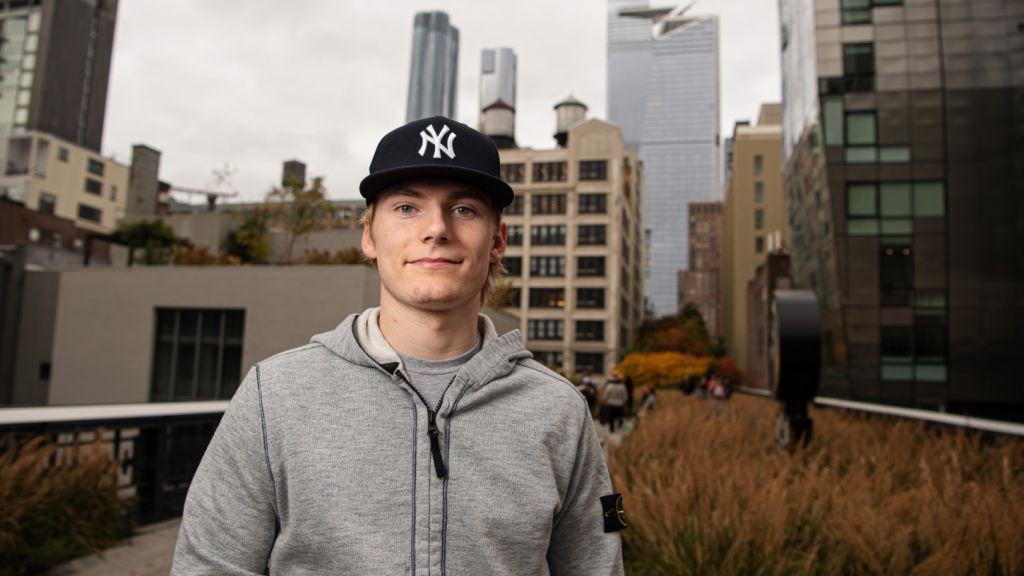 Lias Andersson har lämnat New York bakom sig – och det är oklart ifall han kommer återvända dit.