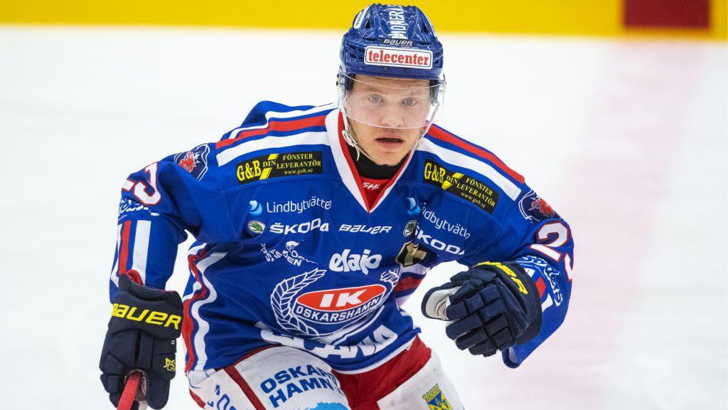 Johan Johnsson i Oskarshamnströjan.