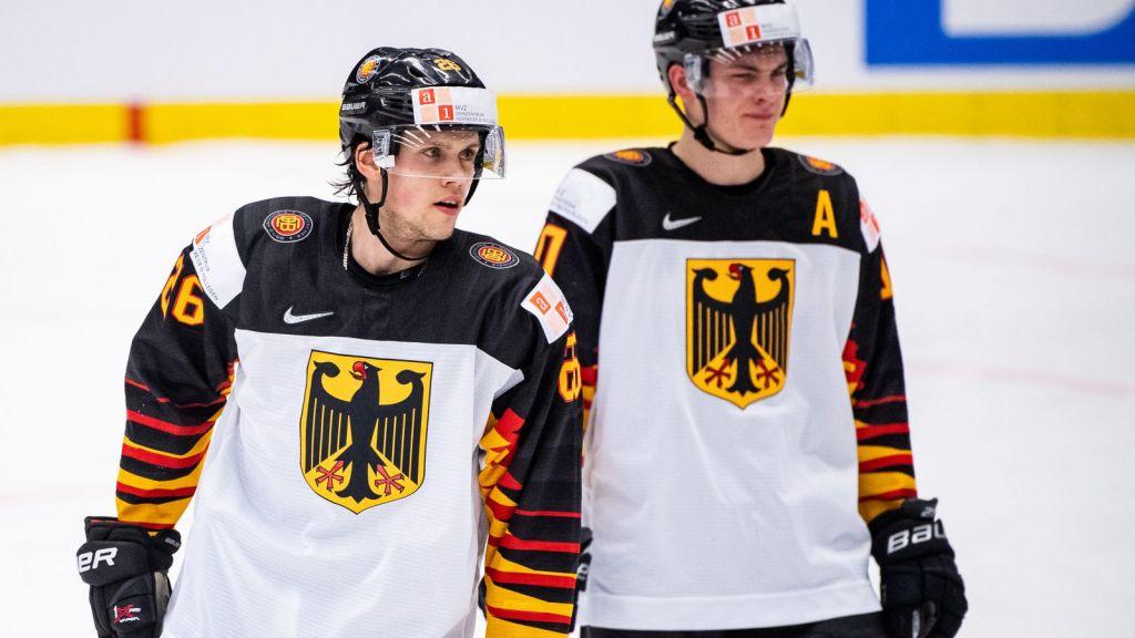 Dominik Bokk (vänster) stod för ett starkt JVM för Tyskland.