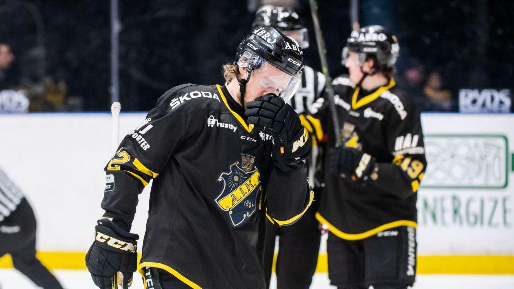 Fiaskot ett faktum – AIK tvingas kvala sig kvar i Hockeyallsvenskan