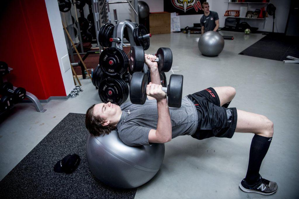 Helge Grans i gymmet i Malmö