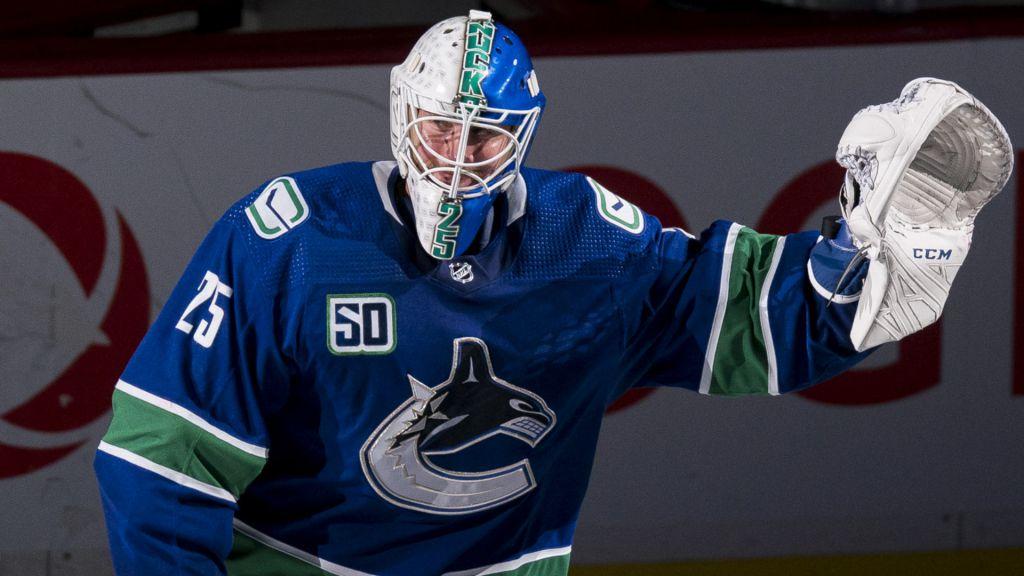 Jacob Markström lämnade Vancouver för Calgary.