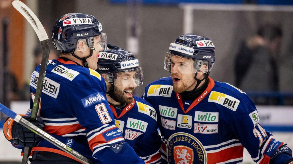 Växjö närmare slutspel - efter konkurrenternas poängtapp