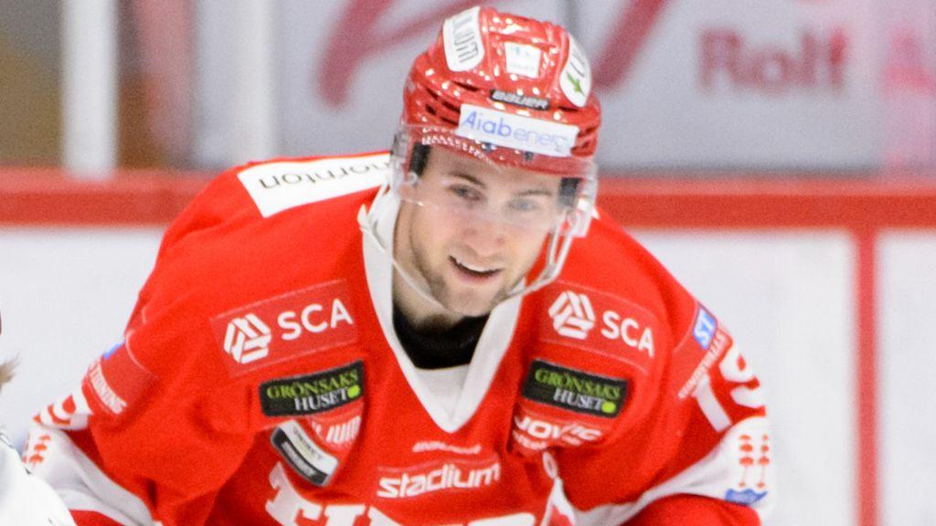 NHL-meriterade forwarden Tobias Lindberg.