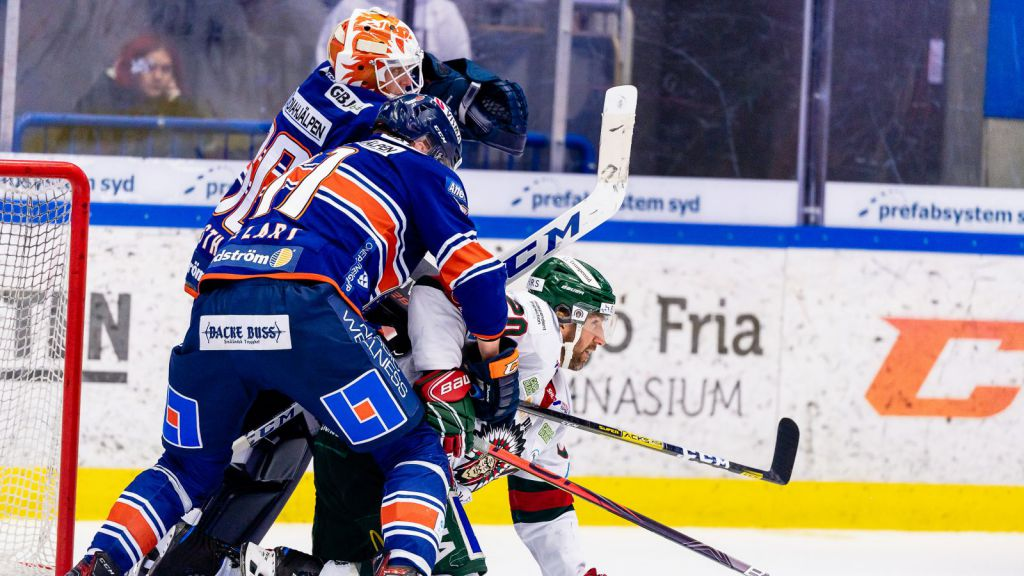 Fasth och Lundqvist i en stekhet duell.