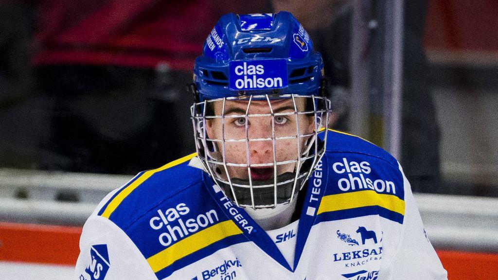 Isak Rosén i SHL-debuten.