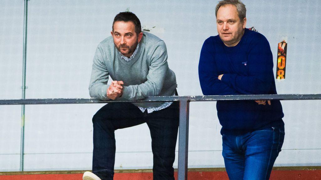 Michael Campese och sportchef Michael Sundlöv.